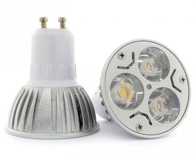 New design e b e gu led bulb lamps spotlights w